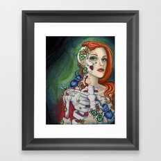 Something's Bugging Me Framed Art Print
