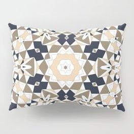 Mandala grey and beige Pillow Sham