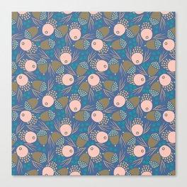 November Born - acorn pattern Canvas Print