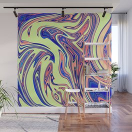 Candy Lime Stone Marble Design Wall Mural
