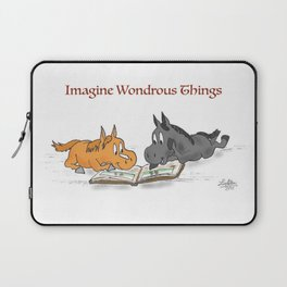 Imagine Wondrous Things Laptop Sleeve