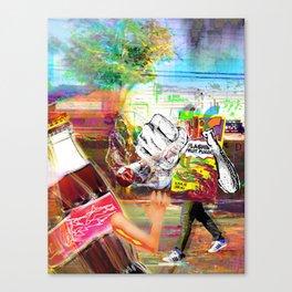 Hi-C Knocked Him Down Canvas Print