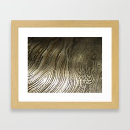 Damascus Steel Blade 2 Framed Art Print