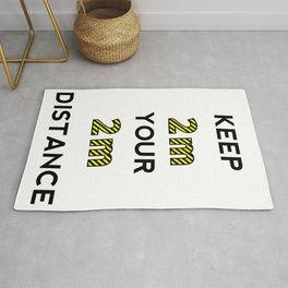 Keep the distance Rug