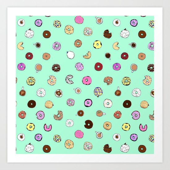 Donut You Want Some Art Print