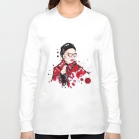 vogue Long Sleeve T-shirts featuring VOGUE by CARLOS CASANOVA