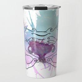 Uterus Splat Travel Mug