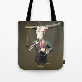 SKULL BULL Tote Bag