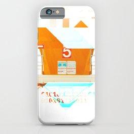 GLITCH NATURE #32: Imperial Beach iPhone Case