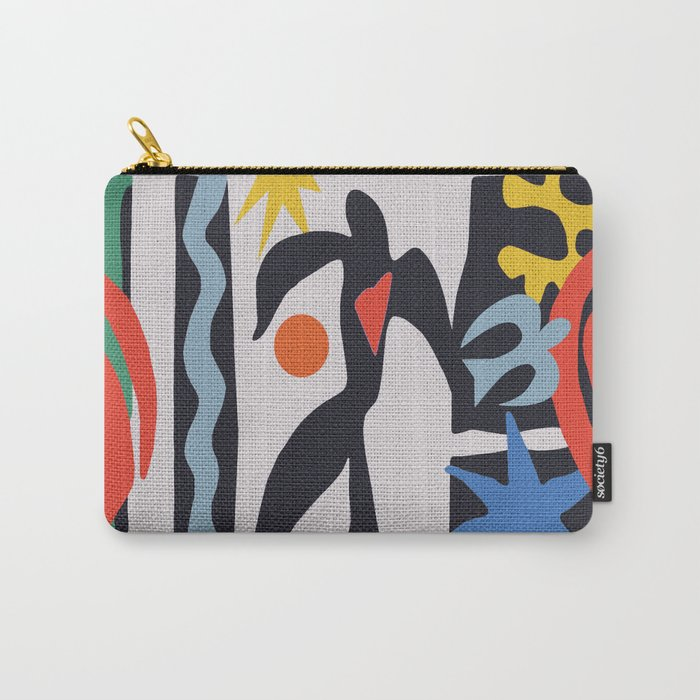 inspired to Matisse (black) Carry-All Pouch