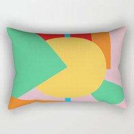 Circle Series - Summer Palette No. 4 Rectangular Pillow