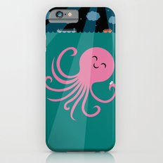 Octopus Selfie at Night Slim Case iPhone 6s