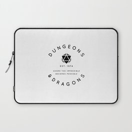DUNGEONS & DRAGONS - WHERE THE IMPOSSIBLE BECOMES POSSIBLE Laptop Sleeve
