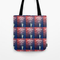 religious Tote Bags featuring Religious Liberty by politics