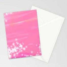 Pink Sparkles Stationery Cards