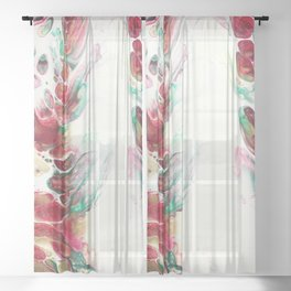 369, Merry and Bright Sheer Curtain