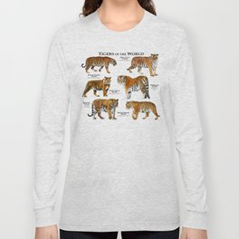Tigers of the World Long Sleeve T-shirt
