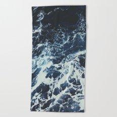 Dark Ocean Beach Towel