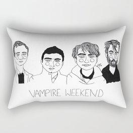 Vampire Weekend Rectangular Pillow