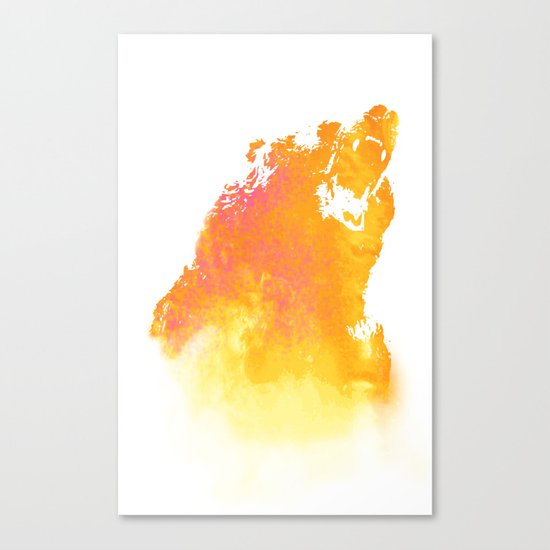Hear me roar! Canvas Print