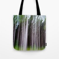 minnesota Tote Bags featuring Minnesota Pines by Marielle Solan Photography