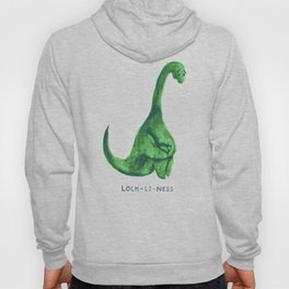 Lonely loch ness monster (loch-li-ness) Hoody