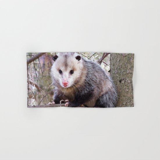 Possum Staredown Hand & Bath Towel