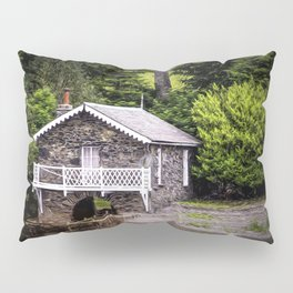 Boatshed On The Lake Pillow Sham