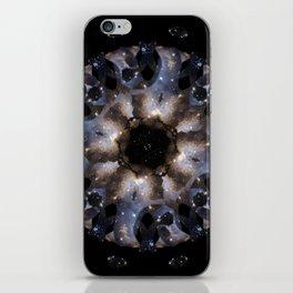Galaxy mandala #4 iPhone Skin