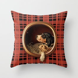 FRIENDS ARE WAITING FOR YOU Throw Pillow