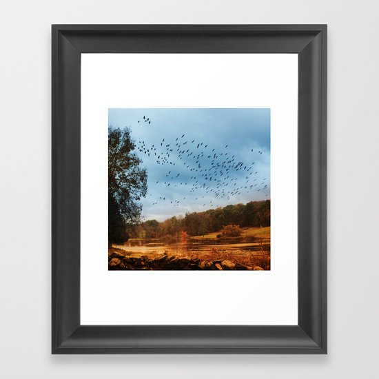 Good Migrations Framed Art Print