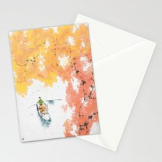 Autumn Drifting Stationery Cards