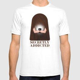 Secretly Addicted T-shirt