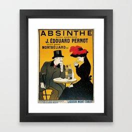 Vintage poster - Absinthe Framed Art Print