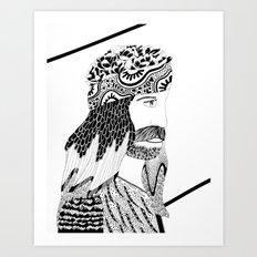 RESURRECCIÓN Art Print