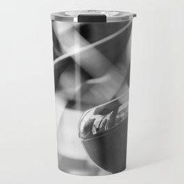 Shatterproof Dreams (JCB Cab Bokeh) Travel Mug