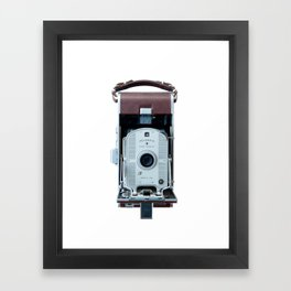 Vintage Land Camera Framed Art Print