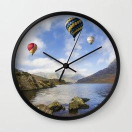 Lake Flight Wall Clock