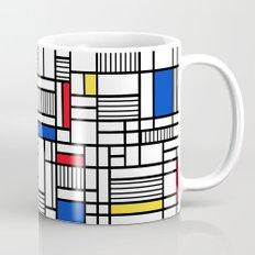 Map Lines Mond Coffee Mug