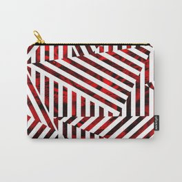 Striped Red Tiger Carry-All Pouch
