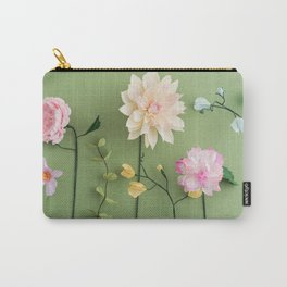 Crepe paper flowers Carry-All Pouch