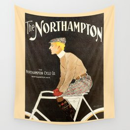The Northampton Bicycle co. by Edward Penfield Wall Tapestry