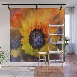 Sunflowers Art Wall Mural