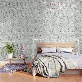 Scattered Floral Wallpaper