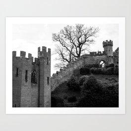 Warwick Castle, England. Art Print