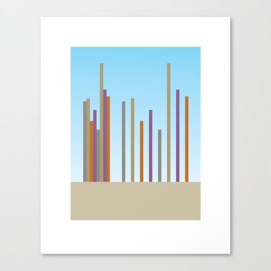 sky scrapers Canvas Print