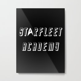 Starfleet Academy Metal Print
