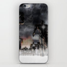 Soldiers Of Virtue iPhone Skin