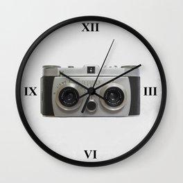 Belplasca Stereo Camera Wall Clock