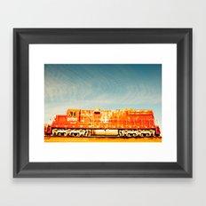 A Loco Motive Framed Art Print